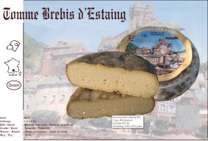 Tomme Brebis d'Estaing